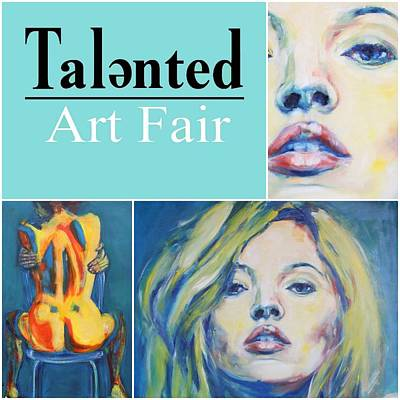 Painting - Talented Art Fair March 2018 by Christel Roelandt