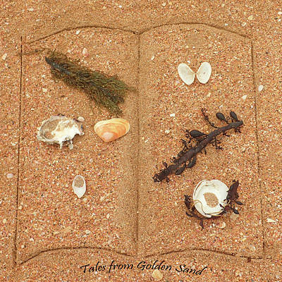 Photograph - Tales From Golden Sand by Helen Worley