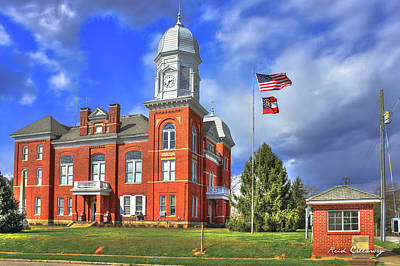 Photograph - Taliaferro County Court House by Reid Callaway