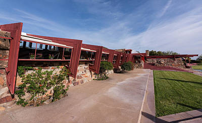 Scottsdale Photograph - Taliesin West Drafting Studio by Steve Gadomski
