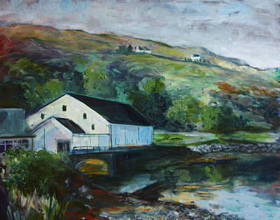 Scotch Painting - Talisker Distillery by Julie Galante
