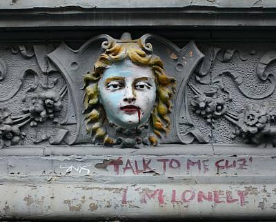 Western Art - Talk to me Cuz Im Lonely by Karin Kohlmeier