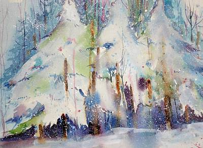Seem Painting - Talk To The Trees by Maurie Harrington