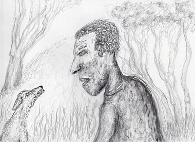 Drawing - Talkin At Ya by Jim Taylor