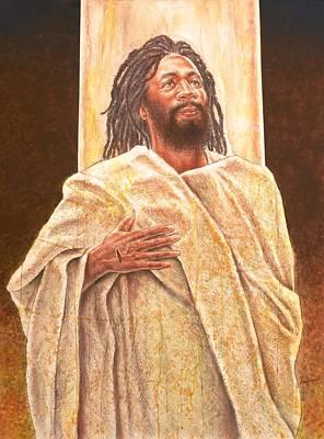 Talkin' Bout Jesus Art Print by Raymond Walker
