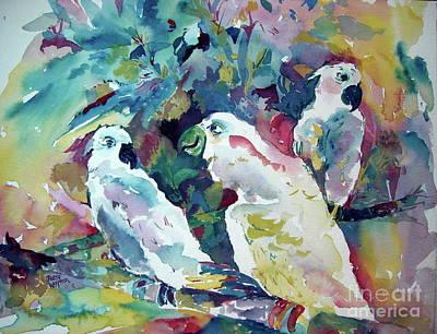 Painting - Talkin' Trash by Patsy Walton