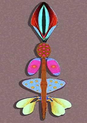 Talking Stick Art Print