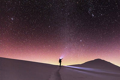 Photograph - Talking To The Stars by Evgeni Dinev