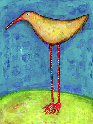 Painting - Tall Bird by Terry Ellis