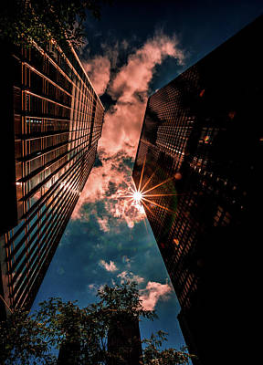 Photograph - Tall Buildings by Lev Kaytsner