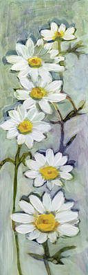 Painting - Tall Daisies by Julie Maas