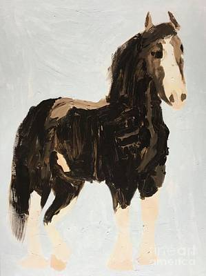 Painting - Tall Horse by Donald J Ryker III