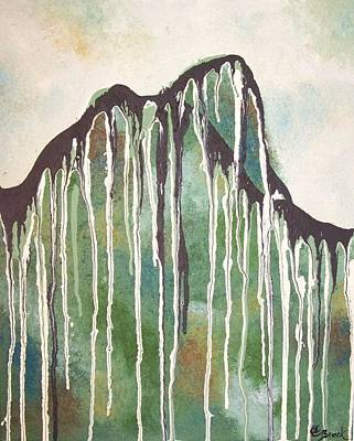Painting - Tall Mountain by Amy Brock
