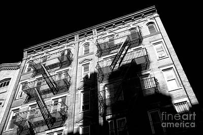 Photograph - Tall Shadows In Little Italy by John Rizzuto