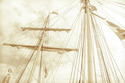 Photograph - Tall Ship - 1 by Will Bailey