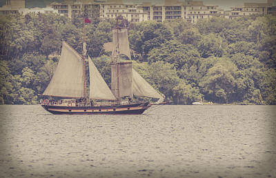 Photograph - Tall Ship - 2 by Will Bailey