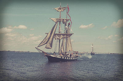 Photograph - Tall Ship - 3 by Will Bailey