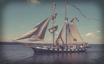 Photograph - Tall Ship - 4 by Will Bailey