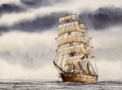 Tall Ship Adventure Art Print by James Williamson