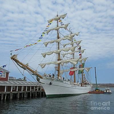 Tall Ships. Marine Art Painting - Tall Ship Adventures by John Malone