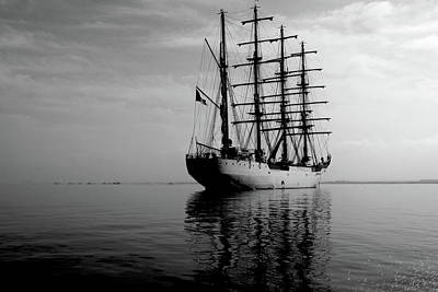Photograph - Tall Ship by Aidan Moran
