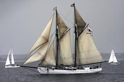 Photograph - Tall Ship by Dapixara Art