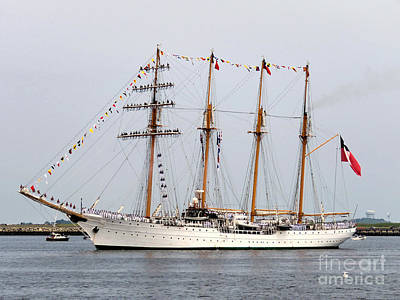 Photograph - Tall Ship Esmeralda  by Janice Drew