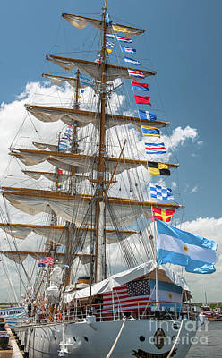 Photograph - Tall Ship Festival 2017 In Charleston Sc by Dale Powell