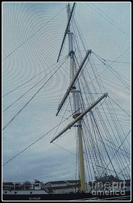 Photograph - Tall Ship Glasgow by Joan-Violet Stretch
