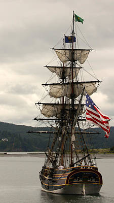 Photograph - Tall Ship by Katie Wing Vigil