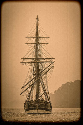 Photograph - Tall Ship Landing by Wes and Dotty Weber
