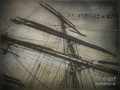 Photograph - Tall Ship Mast V by Tim Richards