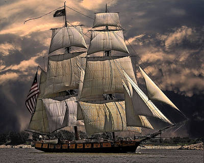 Photograph - Tall Ship by  Newwwman
