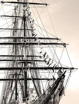 Tall Ship Art Print by Paul Boroznoff