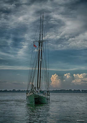 Photograph - Tall Ship by Rebecca Samler