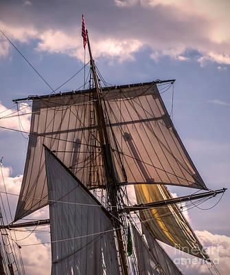 Digital Art - Tall Ship Sails 6 by Kathryn Strick