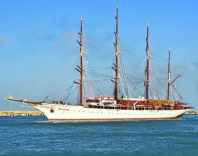 Photograph - Tall Ship Sea Cloud  by Kirsten Giving