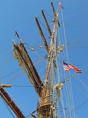 Photograph - Tall Ship Series 8 by Scott Hovind