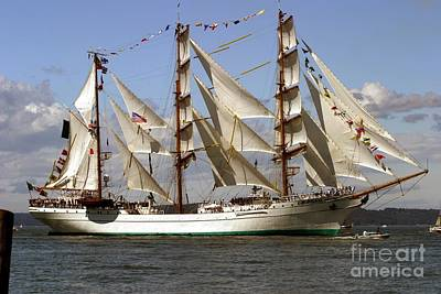 Tall Ship Art Print by Robert  Torkomian