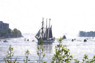 Tall Ship Tswc Art Print