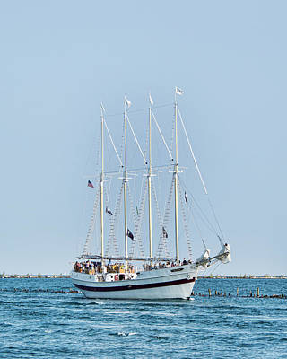 Photograph - Tall Ship Windy - Chicago by John Black