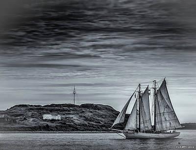 Photograph - Tall Ships 2009 by Ken Morris