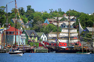 Photograph - Tall Ships 2017 Lunenburg,  Nova Scotia by Gary Corbett