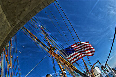 Photograph - Tall Ships 3 by Perry Frantzman