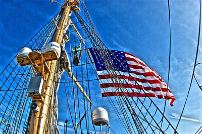 Photograph - Tall Ships 4 by Perry Frantzman
