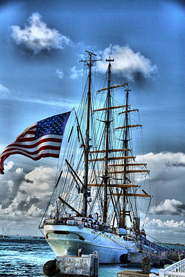 Photograph - Tall Ships 5 by Perry Frantzman