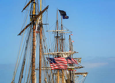Photograph - Tall Ships At Port by Dale Kincaid