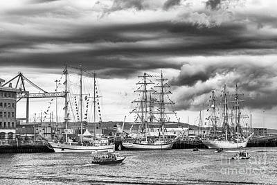 Photograph - Tall Ships, Belfast by Jim Orr