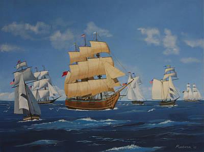 Tall Ships Duluth I Original by Werner Pipkorn