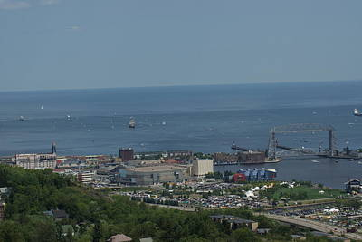 Photograph - Tall Ships Duluth-waiting by Ron Read